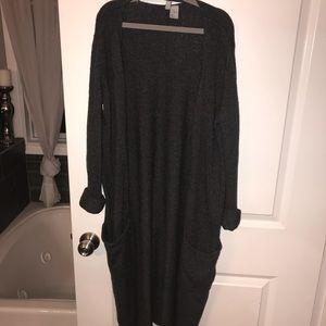 H&M long cardigan
